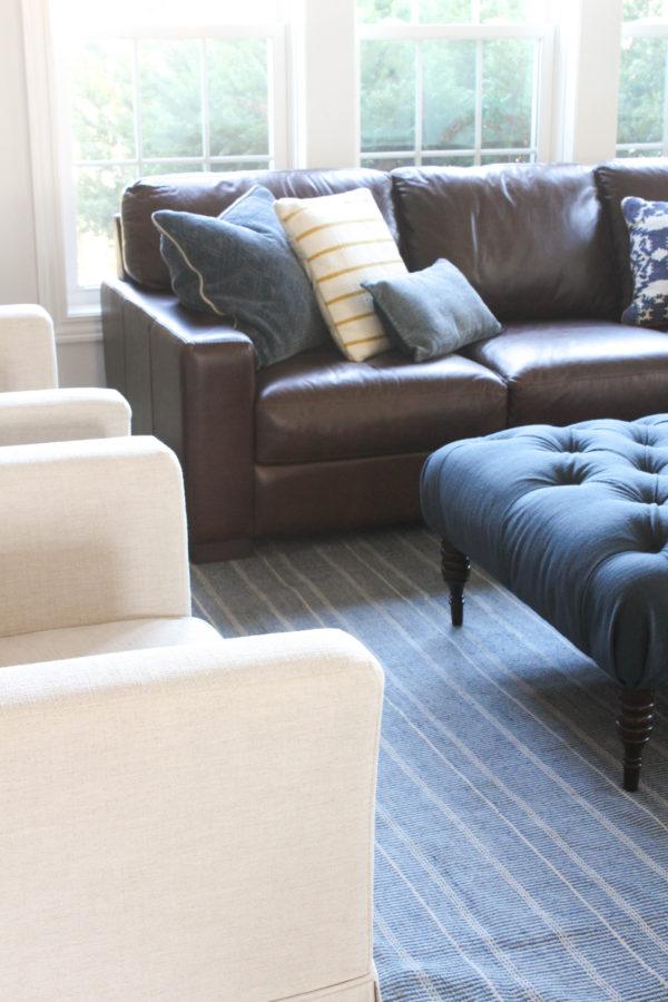 One Room Challenge Week 6 – Living Room Sofa Update